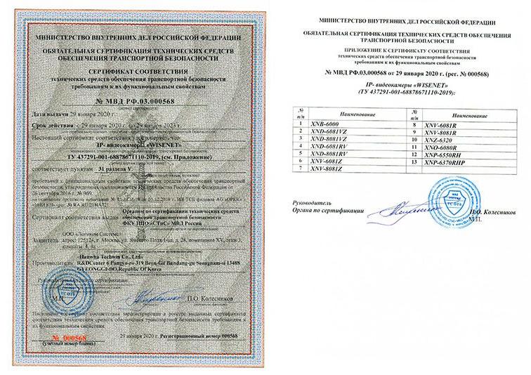 Сертификат-969-на-13-камер-Wisenet